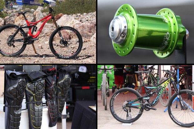 New mountain bikes and accessories from Interbike's Outdoor Demo
