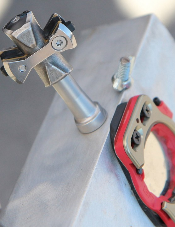 Speedplay's Pave pedal is a production version of what pros have done for a few seasons - removing much of the pedal body for mud and muck clearance