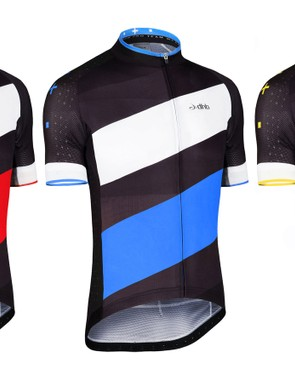 The jersey weighs only 120g and features an aero cut