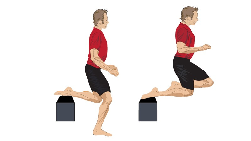 Back bench jump