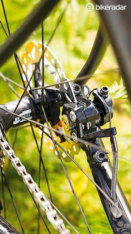 Shimano's mechanical disc brakes have 'Ice' rotors