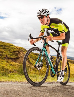 The combination of CV and disc brakes provides supreme comfort and confidence on poor surfaces and in adverse weather