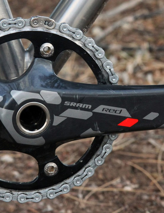 Ashton Instruments hopes that its power meter will eventually easily install into a wide range of cranksets just by securing it inside a hollow bottom bracket spindle. Plus, the target US$500 price tag would continue to push the cost barriers downward for direct-measurement power meters