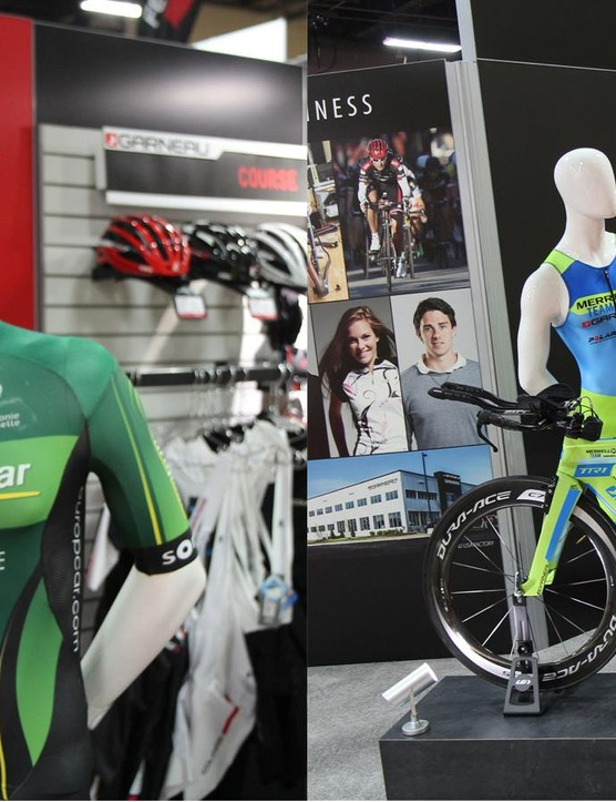 Louis Garneau now offers custom helmets, clothing and bikes for US customers