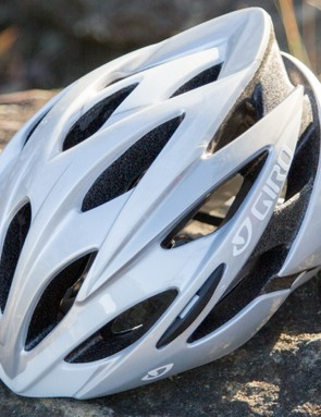 Giro's Savant sits at the bottom of its range of road helmets