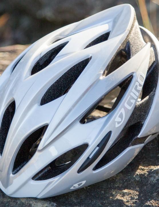 Giro's Savant sits at the bottom of its range of road helmets