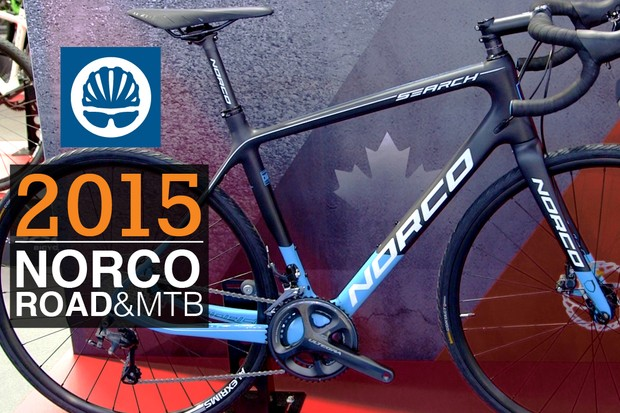 Three of the new and exciting models in the 2015 Norco range are the Search, Threshold and Range