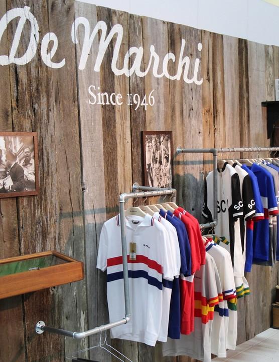 De Marchi's retro line uses modern fabrics with old-school design