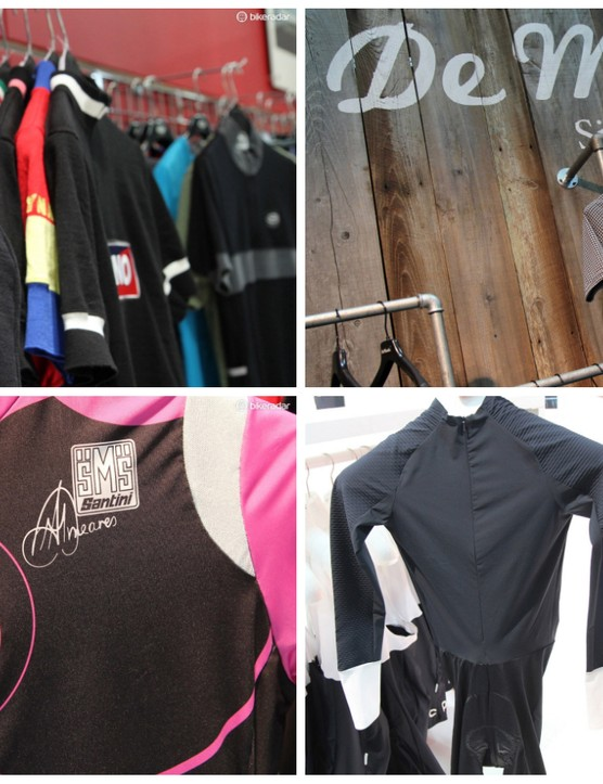 We search the halls of Interbike for what's new in road clothing