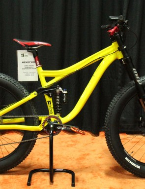 The 11Nine Hemicyon has 150mm of front and rear suspension