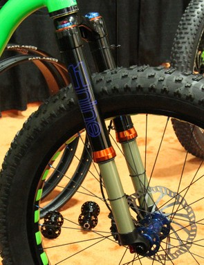 11Nine works with a Taiwanese suspension manufacturer to develop its forks