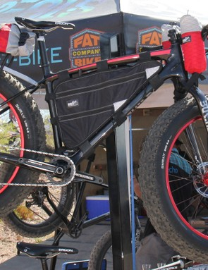 Borealis has this Yampa kitted out for adventure touring