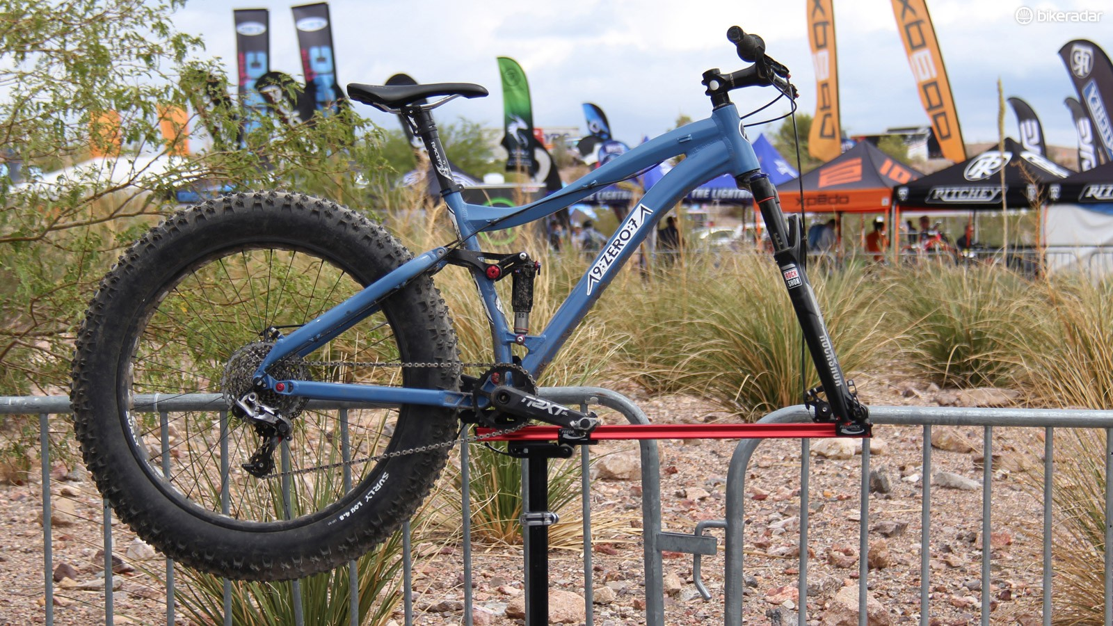 The Alaska-based company 9:Zero:7 is developing its first full suspension model