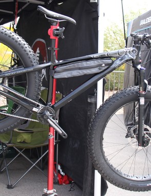Rocky Mountain already had the Blizzard name in its line. It just seemed right to use it for its first fat bike