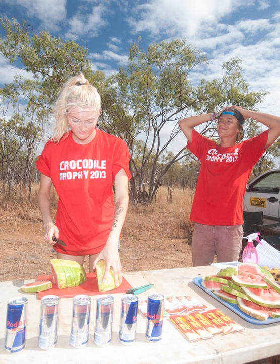 Watermelon is a popular food to find at feed stations – it offers simple sugars and a little hydration