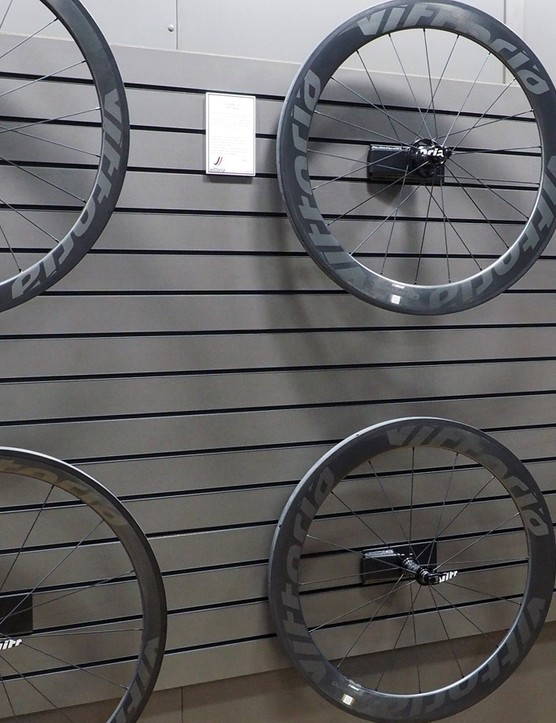 In a surprise move, Vittoria will have a full range of both road and mountain bike wheels for 2015