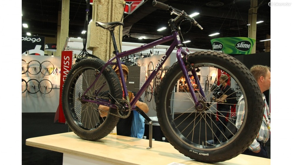 Introduced in 2005, the Surly Pugsley helped spread fat bikes to the masses