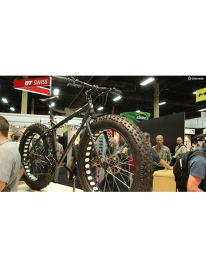 Surly upped the ante in 2011 with the Moonlander and its massive 4.8in tires