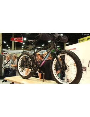 Salsa Cycles' Beargrease was one of the first carbon fat bikes