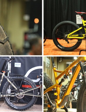 Fat bikes of every type were on display at Interbike this year. Scroll through to see some of our favorites