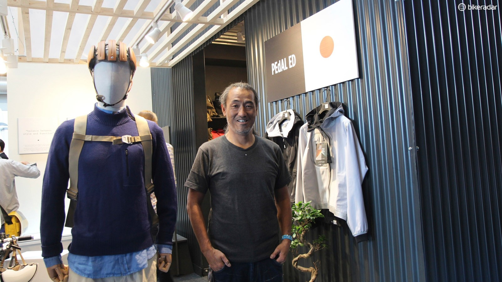 Pedal ED's founder and designer Hideto Suzuki launched the company after 15 years in the Japanese fashion industry
