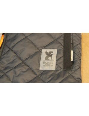 Hand warmers and quilted insulation on the Warm Vest