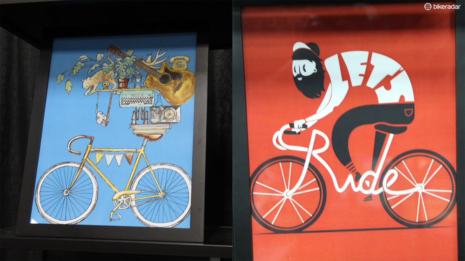Cycling art meets cotton at Clockwork Gears
