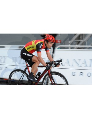 Yanto finished 44th in the Mountains classification during the Tour of Britain