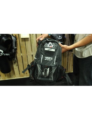 Leatt's new DBX 3.0 pack features a back protector, 3-litre bladder and 10 litres of cargo capacity
