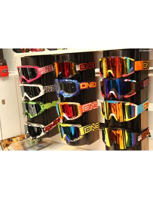 O'Neal has just released a full line of mountain bike goggles