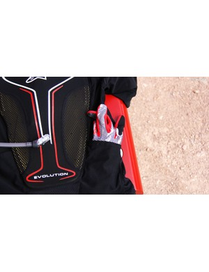 The Evolution Jacket also features stash pockets for smaller items
