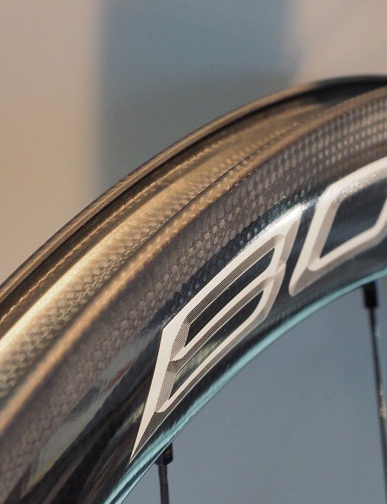 Campagnolo has also added a full carbon clincher Bora to the range for 2015