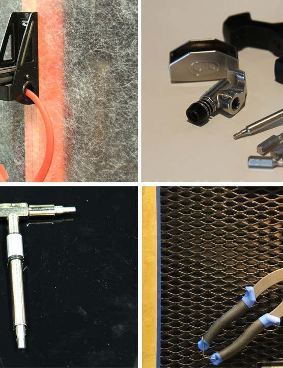 There were quite a few shiny new tools on display at Eurobike and Interbike