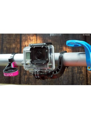 Looking for a nicer handlebar mount for your GoPro (or Shimano) video camera? Bar Fly has got you covered
