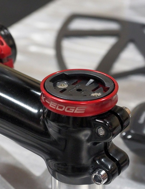 Running a super short stem on your mountain bike? K-Edge's new stem cap mount might be the answer you've been looking for