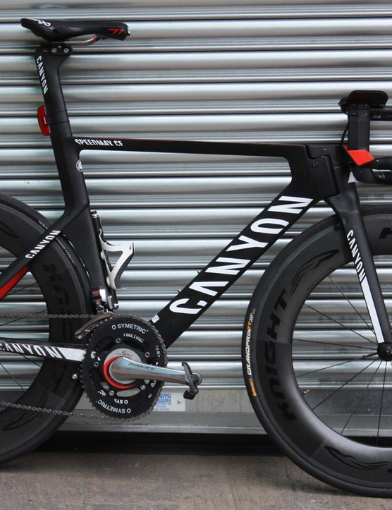 Knight rider! We test-rode the Knight 95 wheels on a Canyon aero road bike