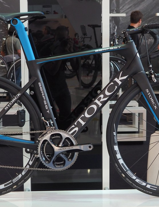 New from Storck is the Aerfast aero road bike