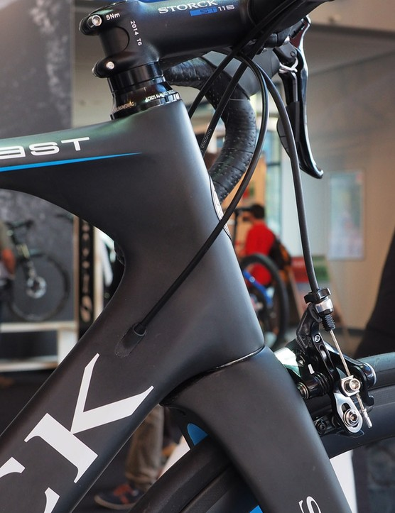 The new Storck Aerfast certainly fits the mental image of what most riders expect to see in an aero road bike