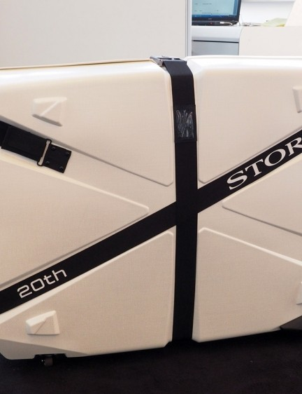The top four 20th-anniversary bikes will also come with Storck's own travel case, which weighs less than 11kg including all of the associated interior bags, padding and hardware