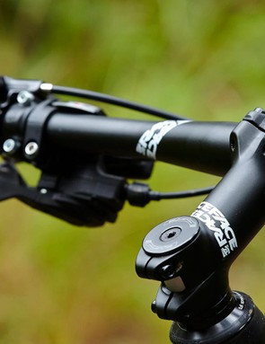 Nearly all forks have a lockout function, but the Granite Chief 1's bar mounted remote makes it easier to use
