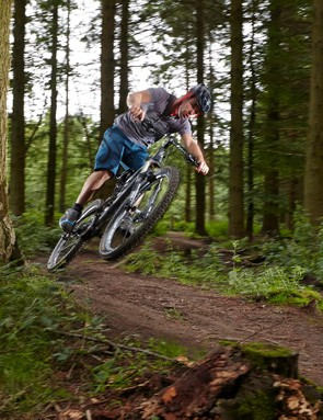 Burly build, big travel and tidy handling make for a fun hard-riding bike