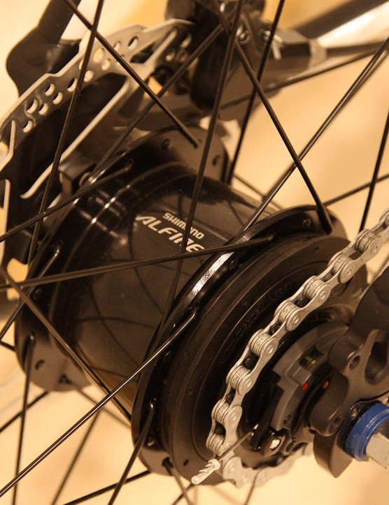 The Intuitive Gamma gets an 8-speed Shimano Alfine hub