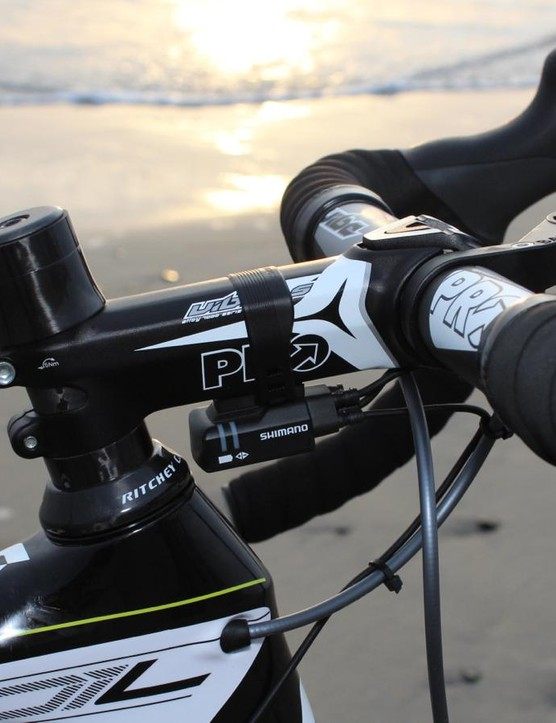 I don't like Shimano's mounting solution for the Di2 junction box