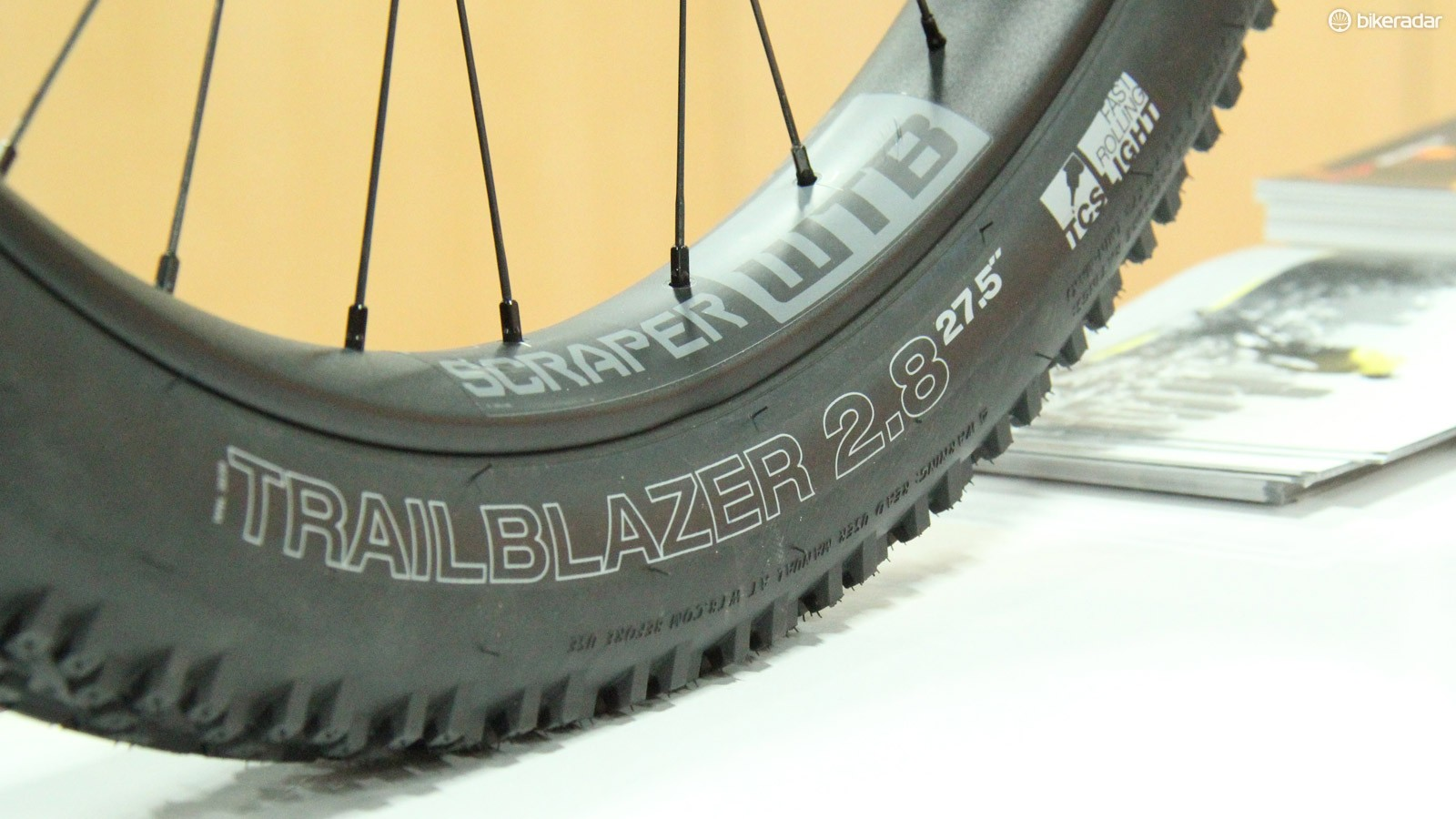 WTB has a new 27.5+ tyre and rim combo
