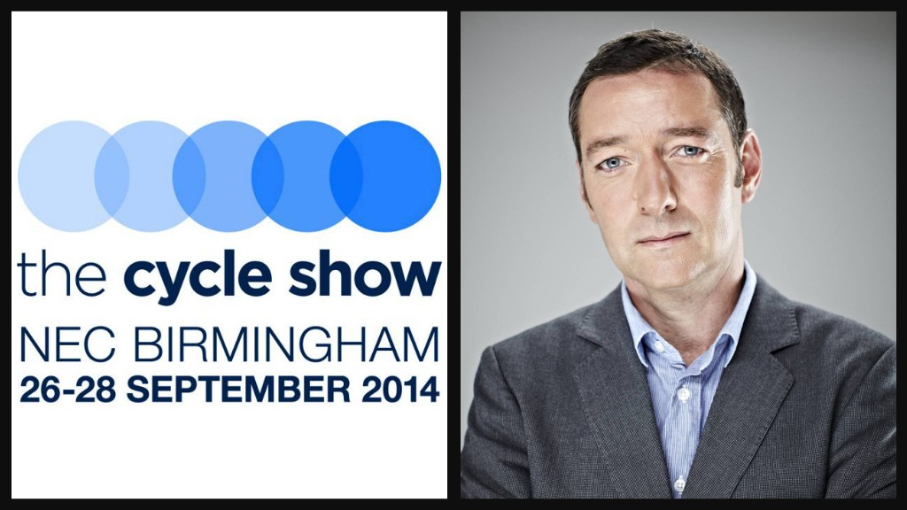 See Ned Boulting at The Cycle Show on 26 to 28 September