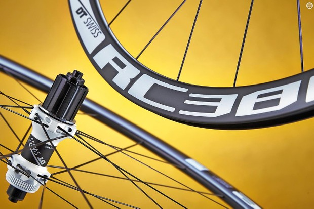 DT Swiss RC38 Spline C DB wheels