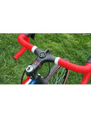 This bike also gets Bontrager's Blendr mount for a Garmin computer