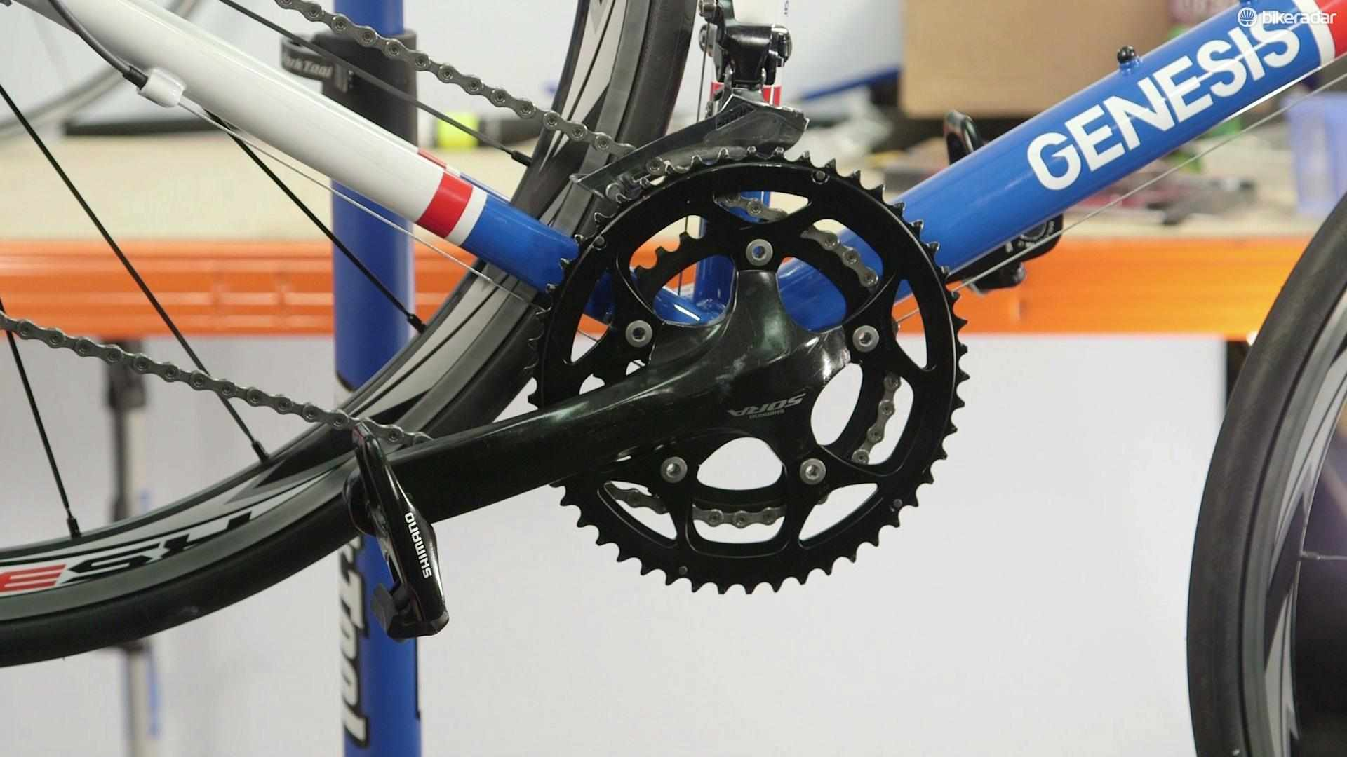 How to replace a crankset - a video guide