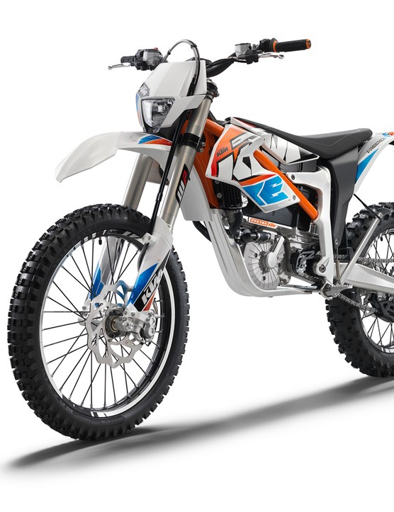KTM's E-XC electric enduro bike is the first of its kind from a large manufacturer