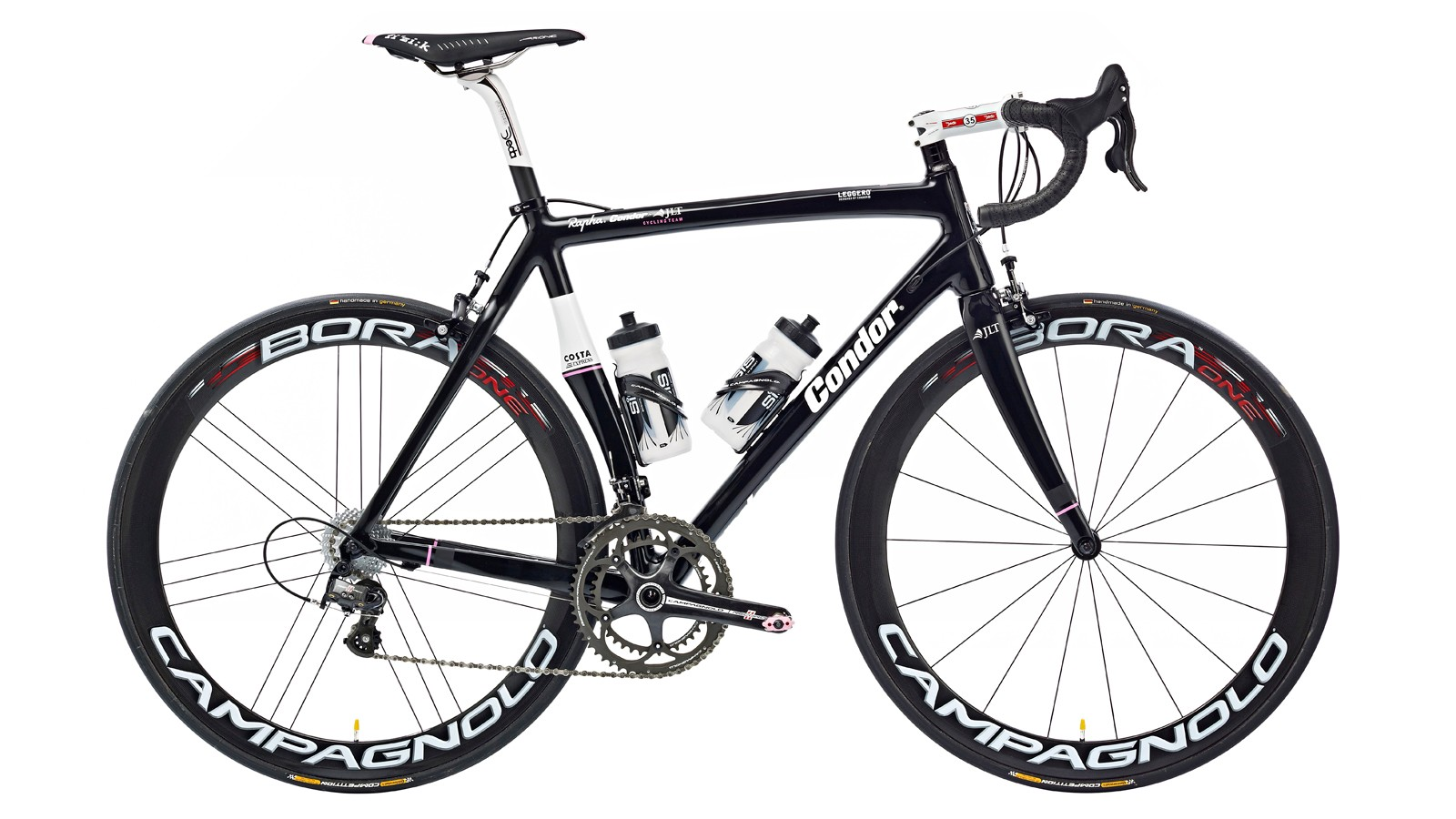 Condor's Leggero is designed for stiffness and suppleness in pursuit of victory